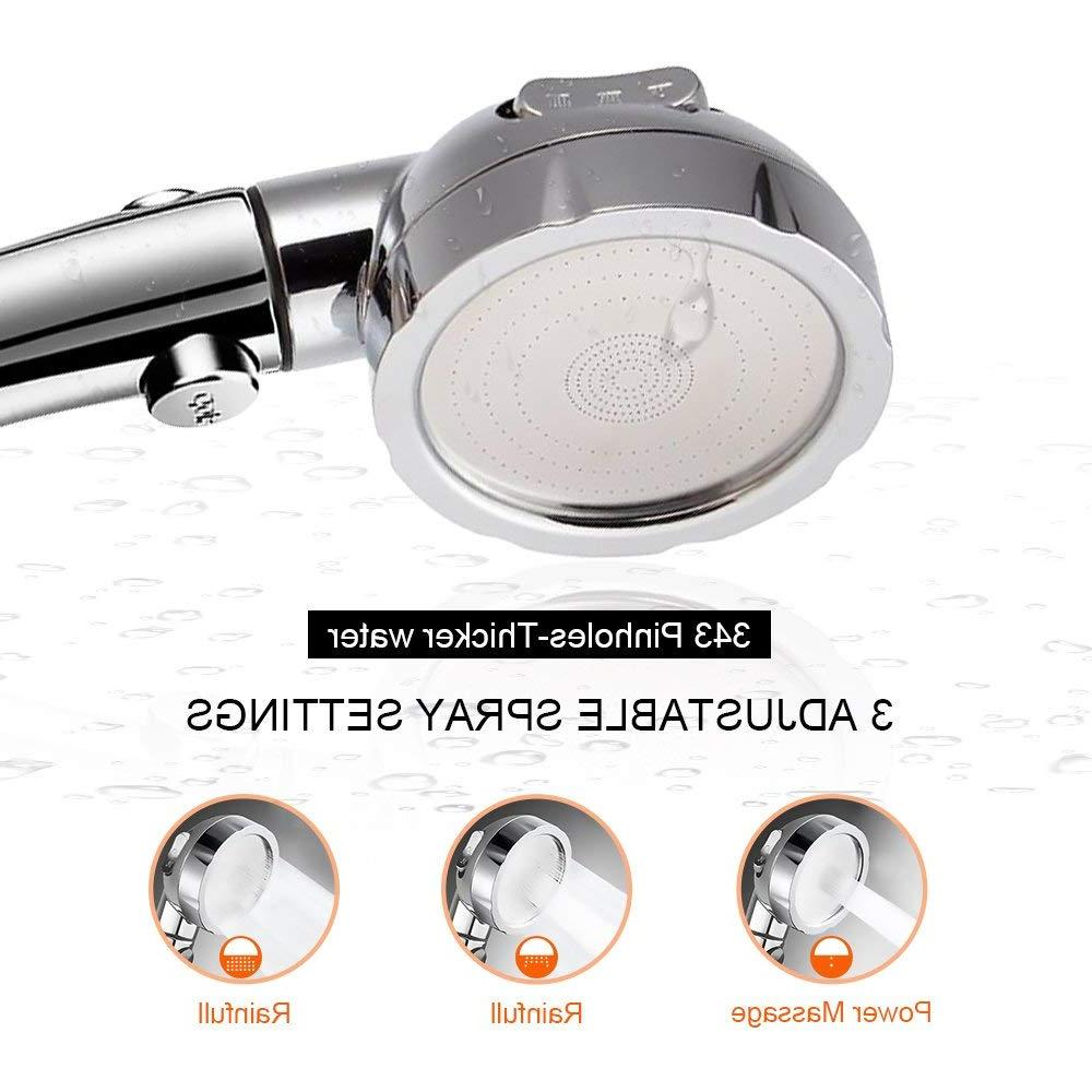 Handheld Pressure 3 Setting with <font><b>Switch</b></font> Luxury Spa Detachable