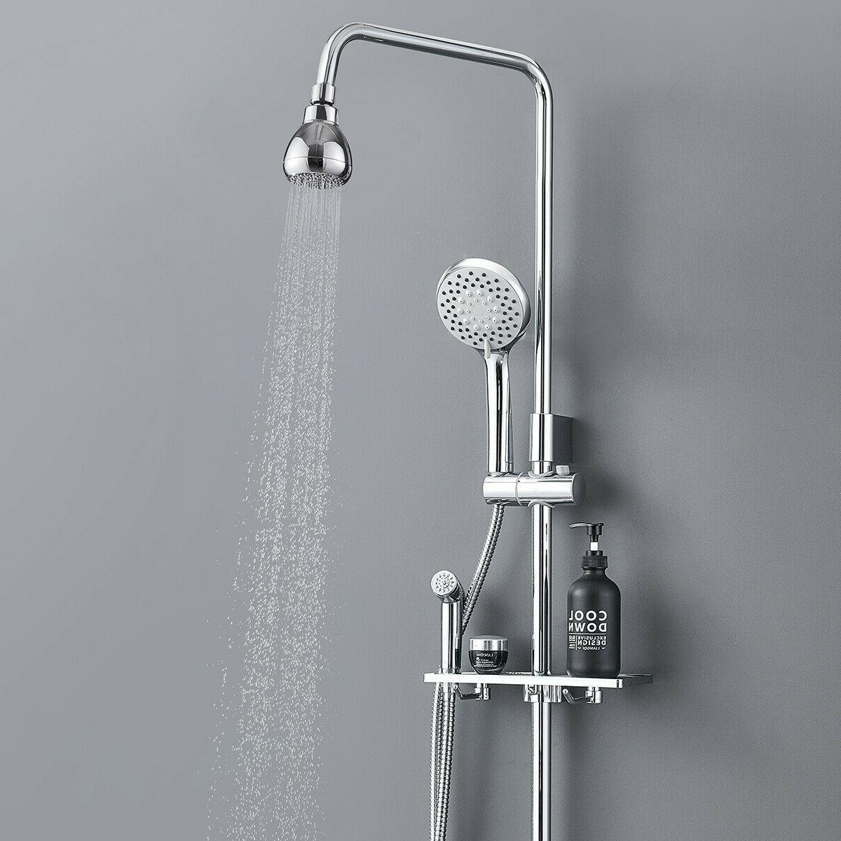 High Pressure Head 3 Inch Anti-leak Fixed Chrome Rainfall