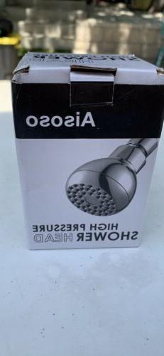 High Pressure Shower Head 3 Inches Anti-clog Anti-leak Fixed