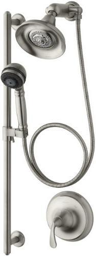 Kohler K-10827-4-BN Forte Essentials Showering Pkg - Brushed