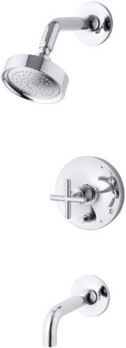 KOHLER K-T14421-3E-CP Purist Rite-Temp Pressure-Balancing Ba