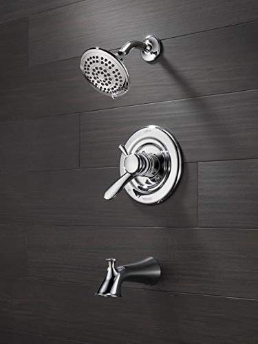 Delta Series Dual-Function Tub Trim Touch Clean Shower Chrome T17438