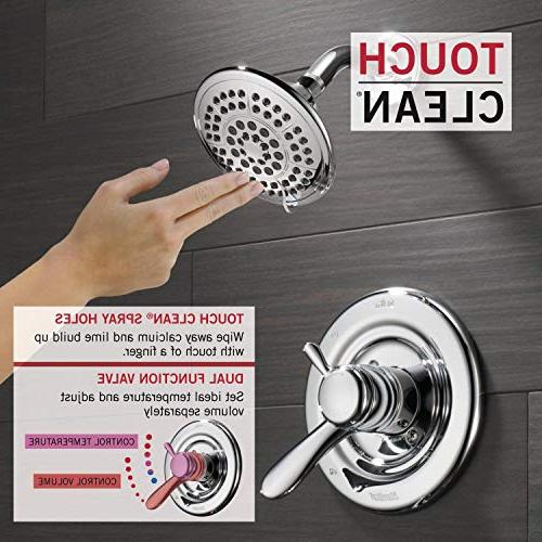 Delta Dual-Function Tub and Shower Trim Touch Shower Chrome