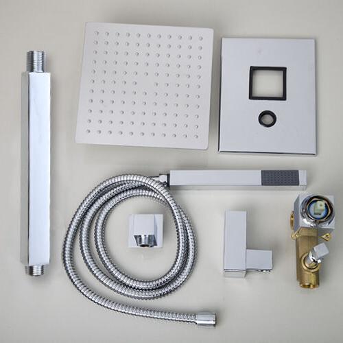 LED Rainfall Shower Mixer Set