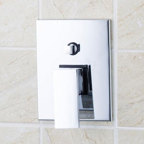 LED Rainfall Bathroom Shower With Hand Sprayer Set