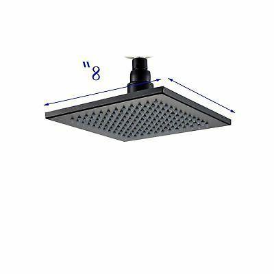 LED Oil Rubbed Bathroom Set Rainfall Shower Tap