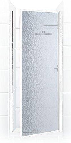 Coastal Shower Doors Legend Series Framed Hinge Shower Door