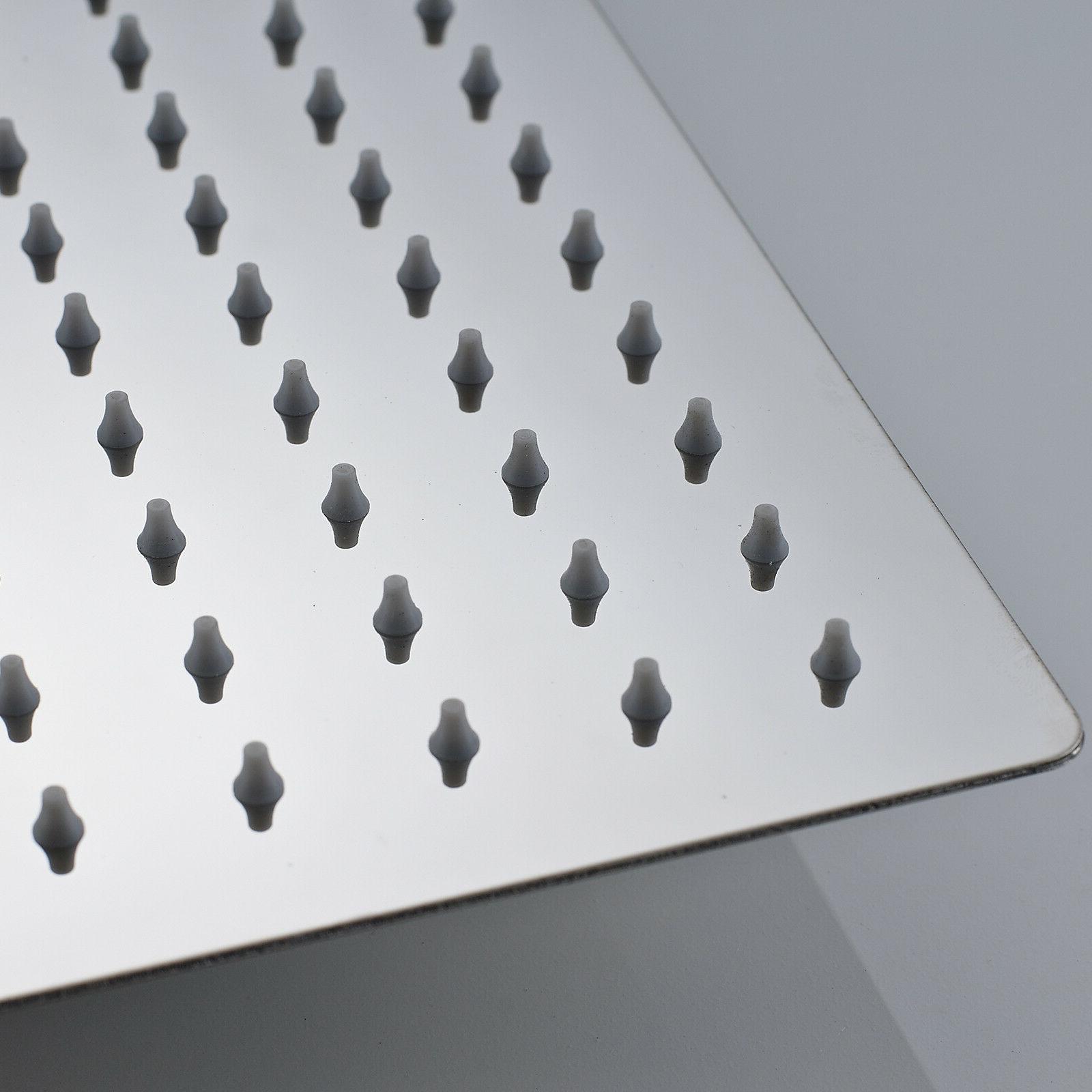 Rozin Thin 304 Steel Inch Colors Rain Shower