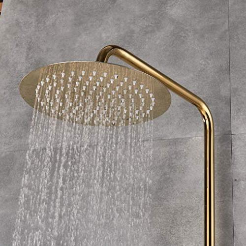 Rozin Luxury Bathroom Shower Set Tub Faucet 10-inch Head