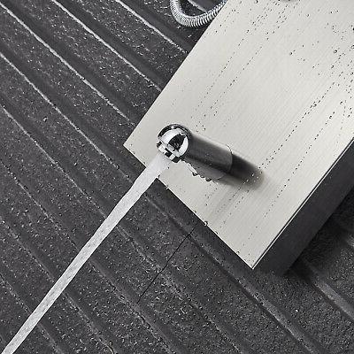LED Nickel Panel Waterfall&Rain System Jet