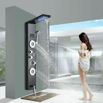luxury square waterfall rain shower