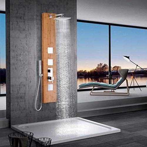 mallow pressure balance bamboo shower