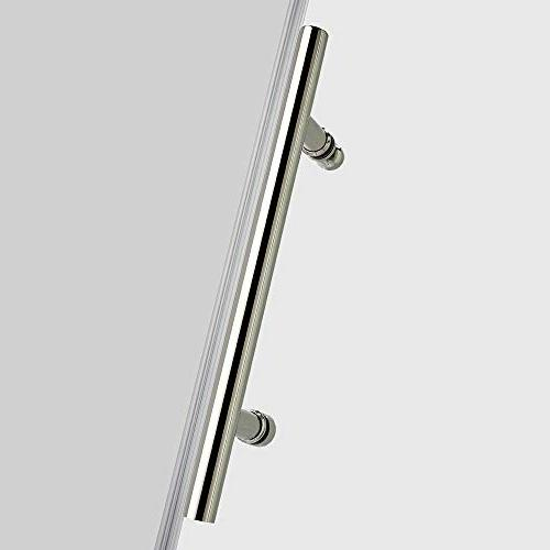 """WOODBRIDGE MBSDC6076C Shower, 56""""-60"""" Width, Height, 3/8"""" C-Series:"""
