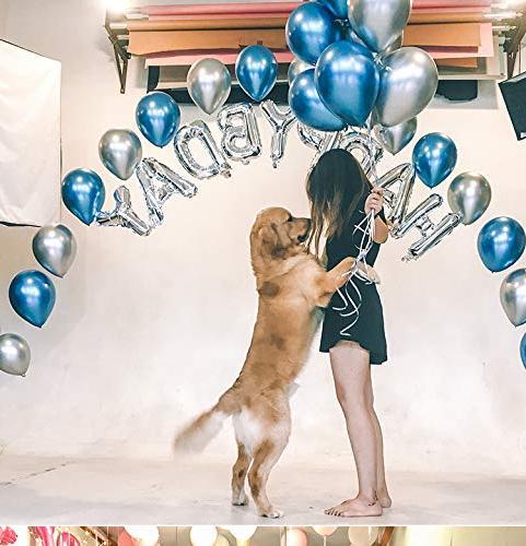 DIvine Inch Metallic Chrome Balloons Wedding Graduation