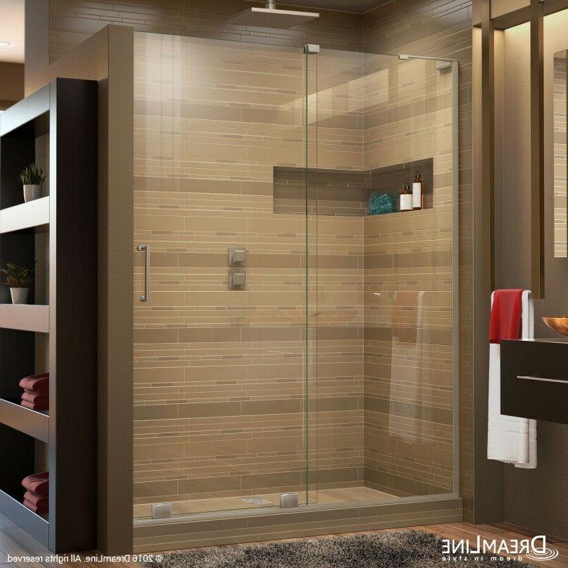 mirage sliding shower door