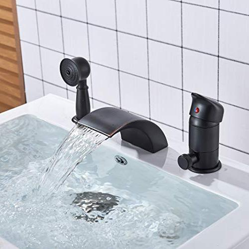 Rozin Oil Single Handle Waterfall Mixer Faucet with