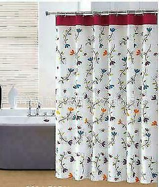 orchid thick waterproof bathroom shower curtain polyester