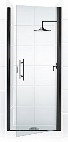 Coastal Shower Doors Paragon Series Semi-Frameless Continuou