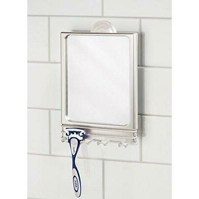 Power Lock Suction Bathroom Shaving Mirror Hooks For