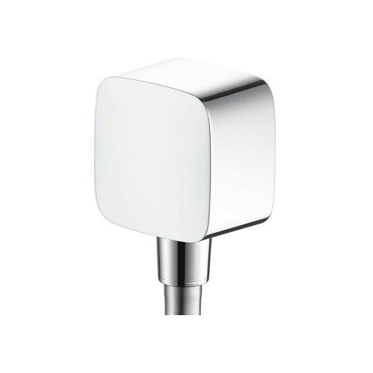 Puravida Fixfit Wall Outlet - Chrome Finish - Hansgrohe - 27