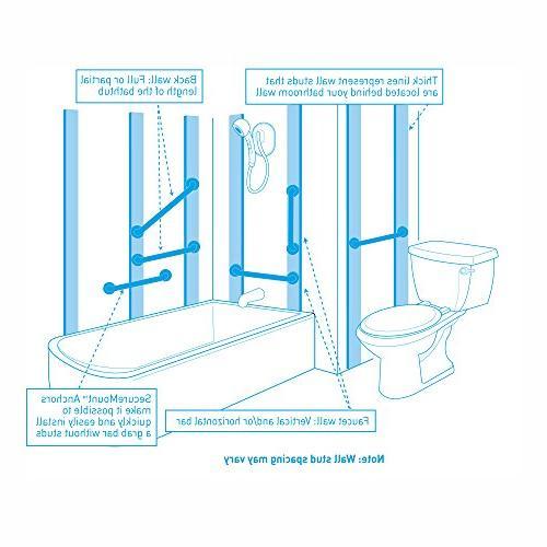 Moen Flip-Up Bathroom Grab Stainless