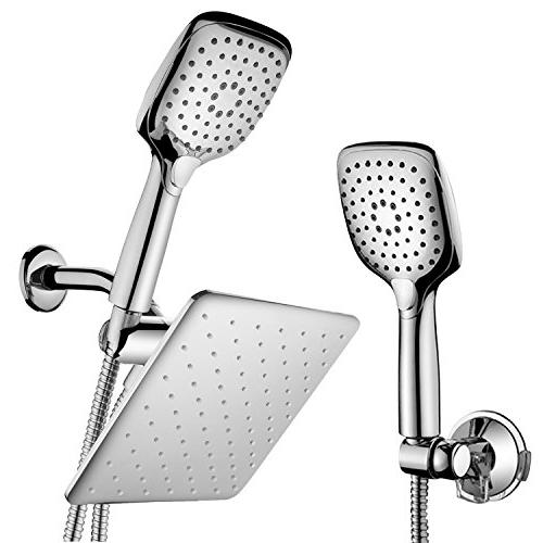 HotelSpa 10.5-in Rain Shower Head/Handheld Combo. Convenient