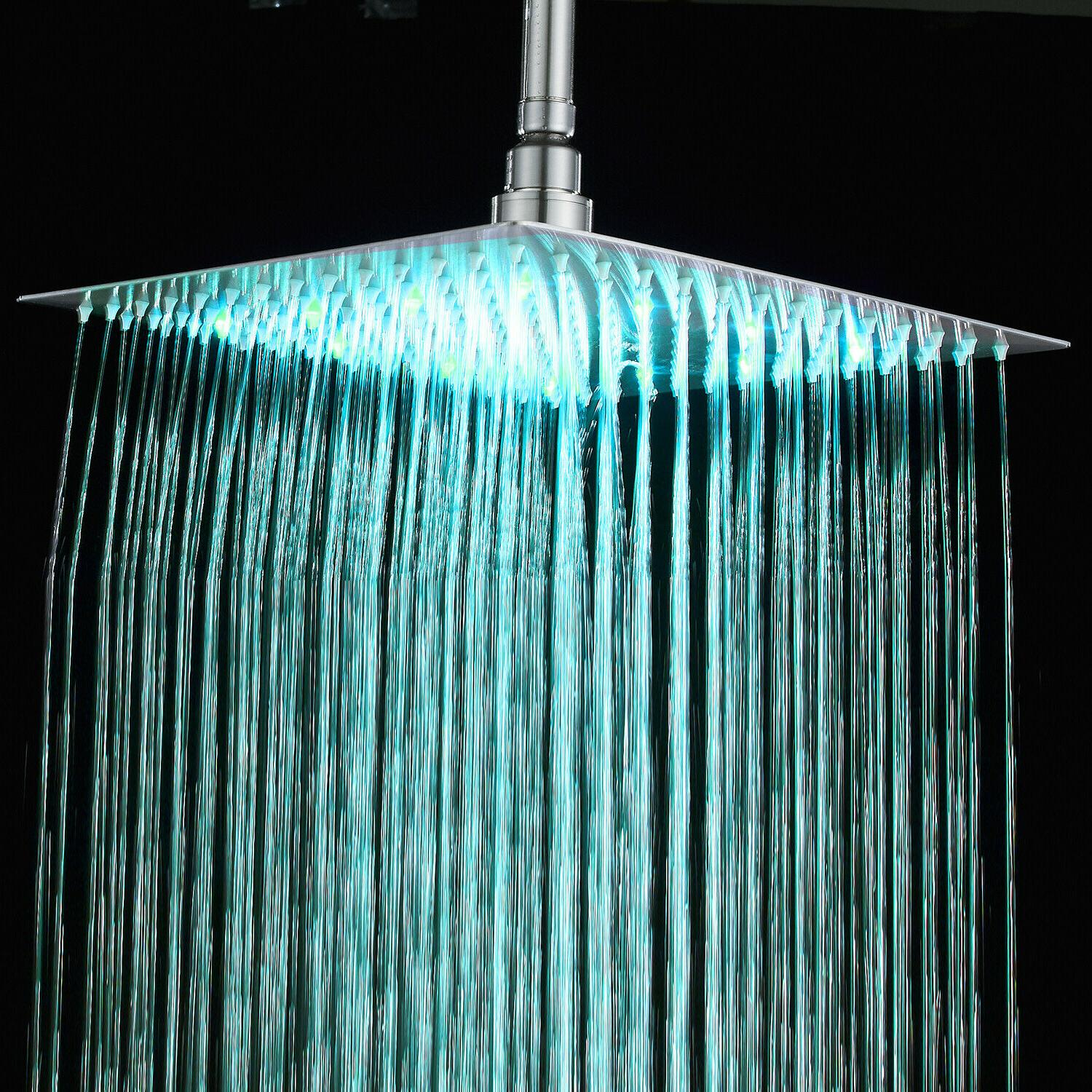 rain shower head handheld combo