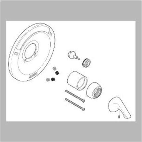 Delta Renovation Kit - 600 Tub and Chrome