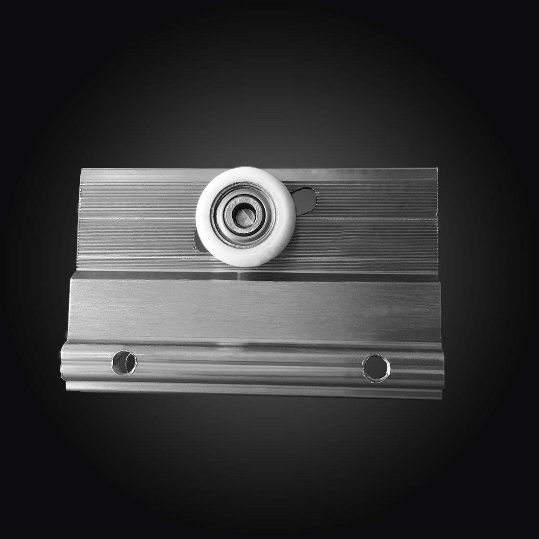 "ELEGANT SHOWERS Bypass Glass Tub Doors 1/2-60""W Nickel"