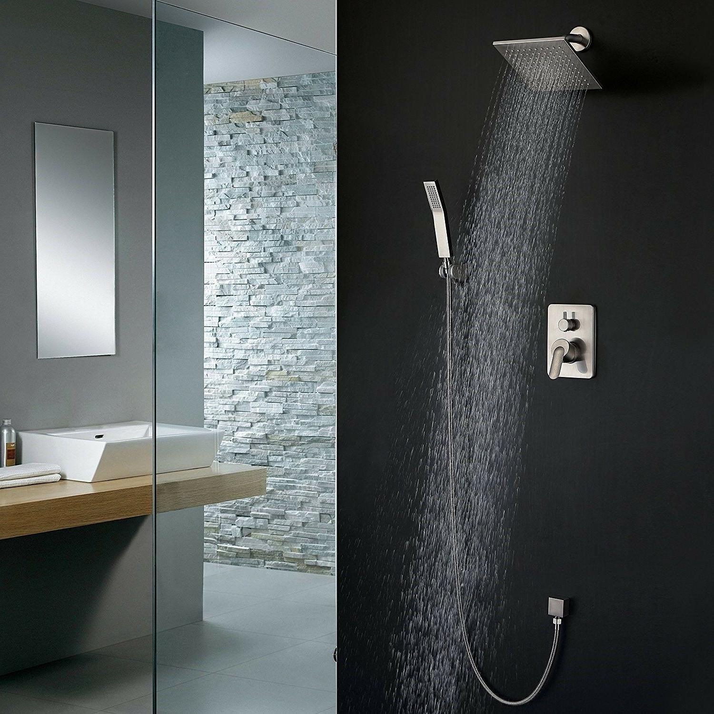 Shower Fixtures All Metal Flow Rain Shower