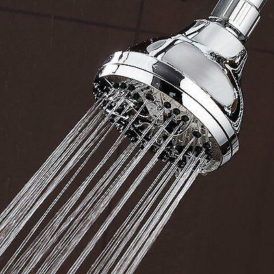 Shower Head Setting Water Rainfall Adjustable