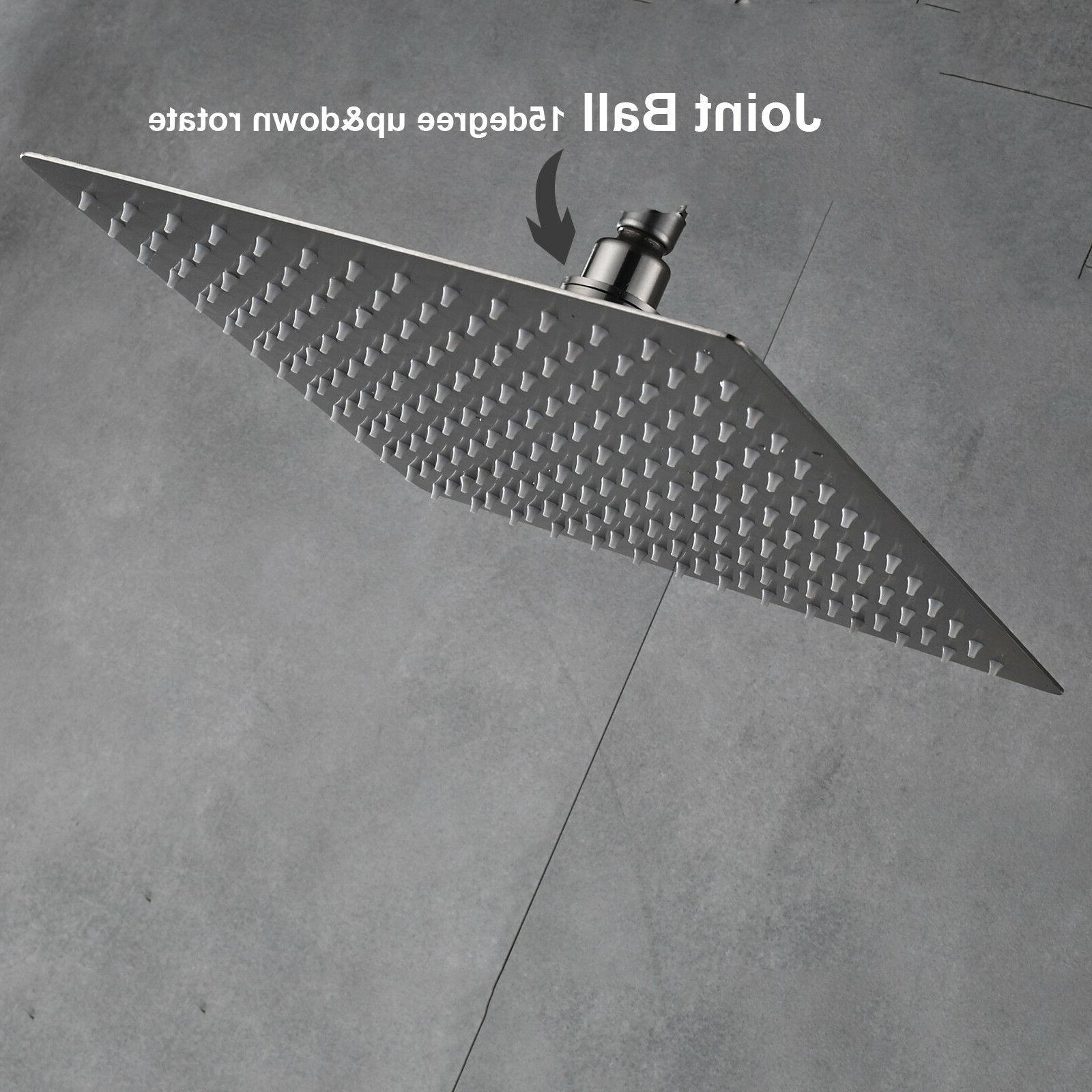 16-Inch Shower Head Brushed
