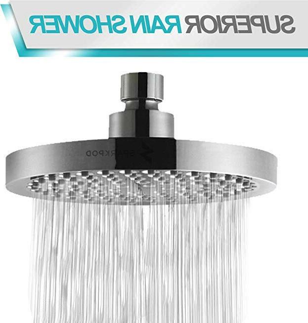 SparkPod High Shower - Modern Look - Stands