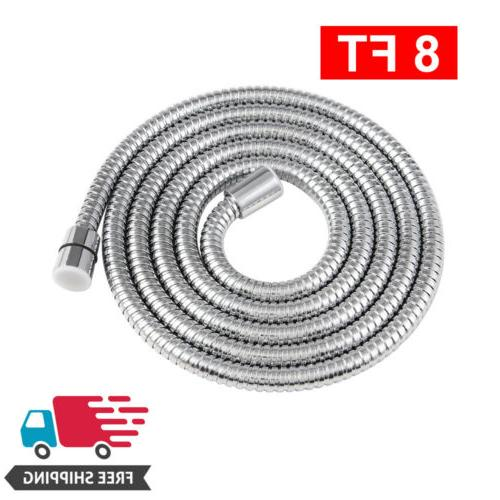 shower hose brushed nickel extra long stainless