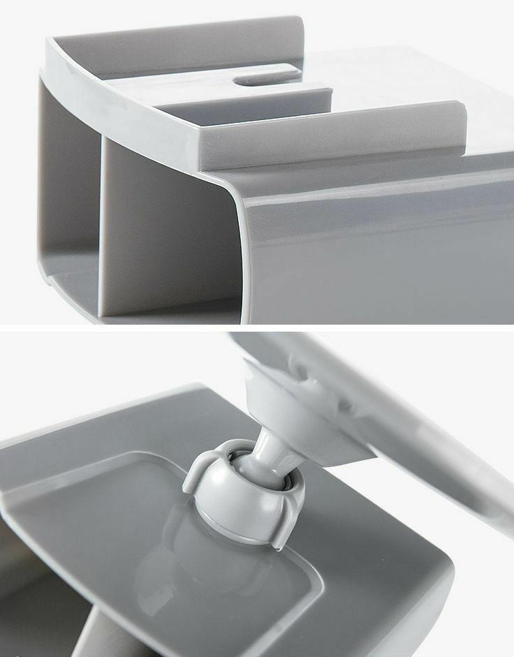 Shower Make Mirror Adjustable Storage