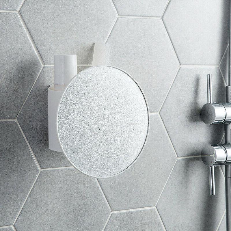 Shower Mirror Bathroom Make With Adjustable Box