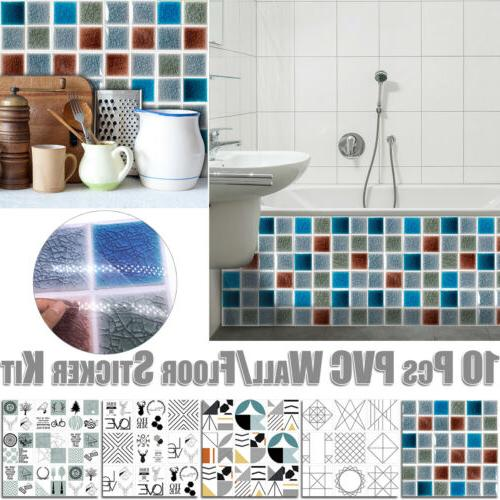 Shower Mural Waterproof Sticker Sticker