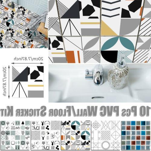 Shower Wall Art Mural Sticker Kit Furniture Decal