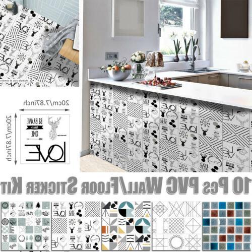 Shower Room Art Mural Sticker