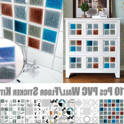 Shower Wall Art Mural Sticker Sticker Kit Furniture