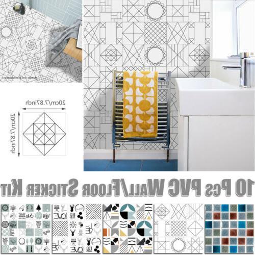 Shower Wall Art Mural Waterproof Wall Sticker Furniture Decal