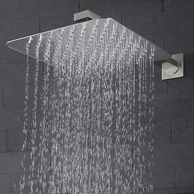 Shower Brushed Nickel inch Rainfall Tap