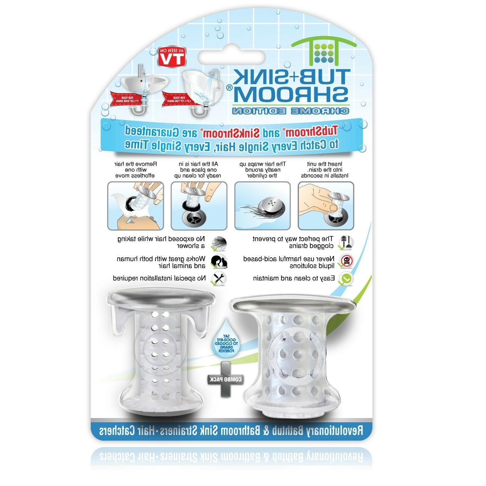 sinkshroom drain protectors hair catchers