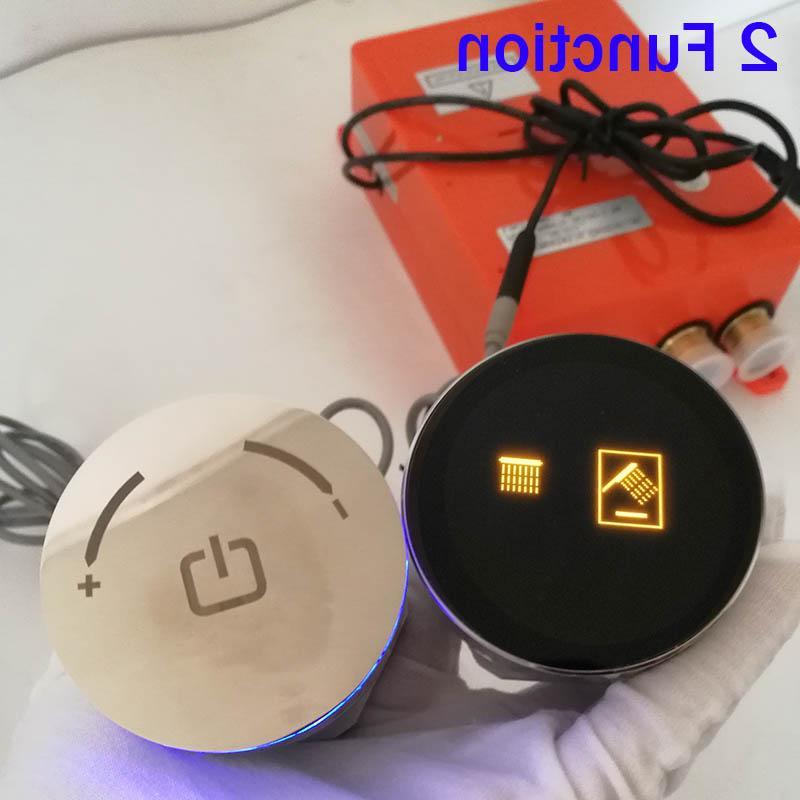 Smart Auto-Thermostat <font><b>Shower</b></font> Mixer Valve Rotation Round Knob