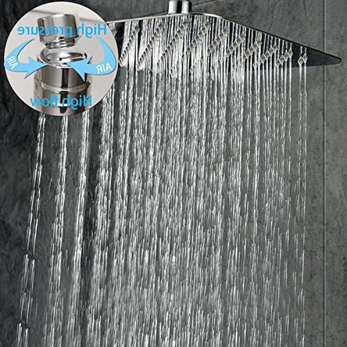 SR RISE Bathroom Shower Set Mounted Rainfall System