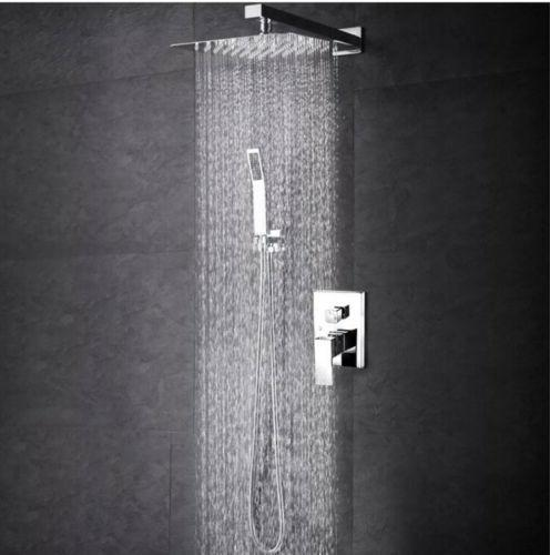 SR Sun Rise SRSH-F5043 Bathroom Luxury Rain Mixer Shower Com