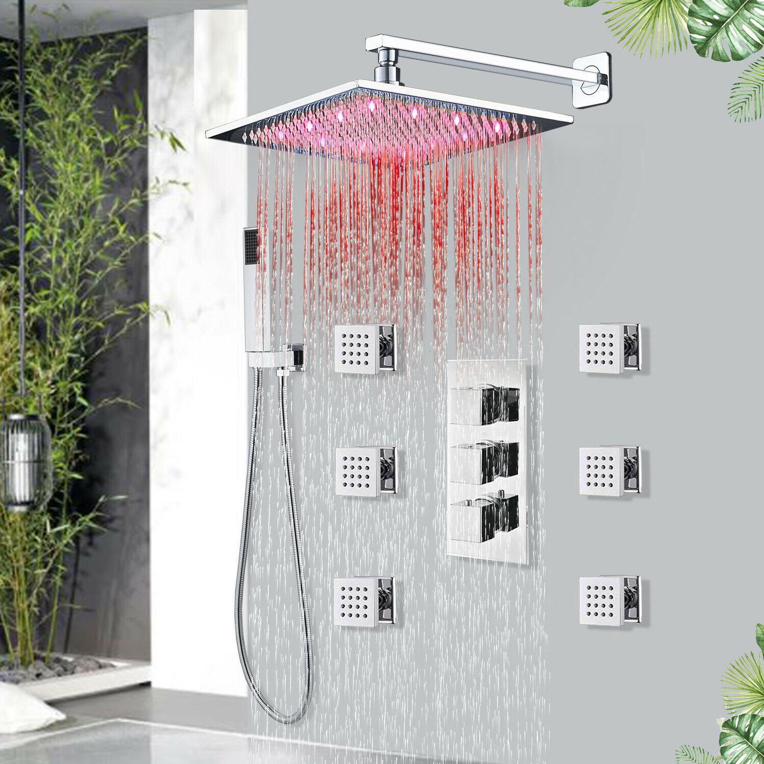 stainless steel faucet waterfall rain