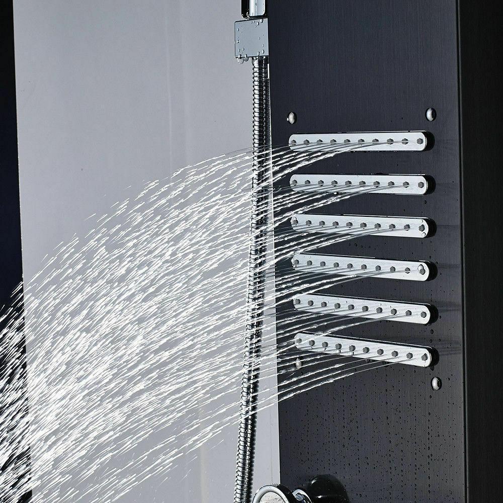 Stainless Steel Shower Tower Rain W/Massage