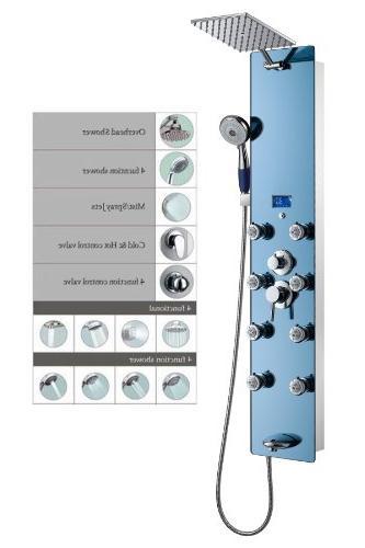 stainless steel spv878392h shower panel