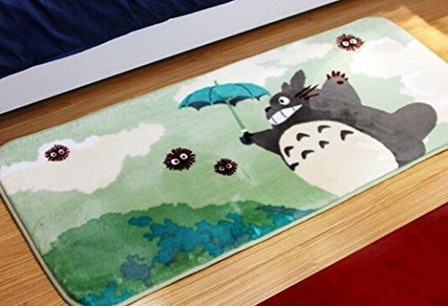 Sytian® 50*120cm Non-slip Absorbent Totoro Bedroom Mat Shower Rug